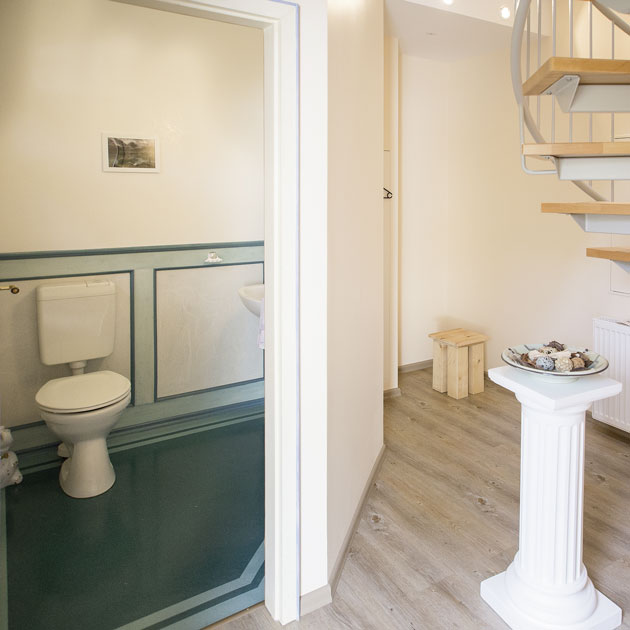 Separates Bad mit WC